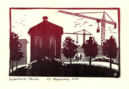 Berlin: Wasserturm am Prenzlauer Berg