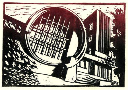 Moscow constructivism: Garage (K. Melnikov)