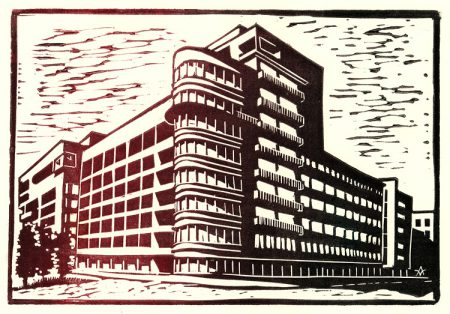 Moscow constructivism: Ministry of agriculture (A. Schusev)