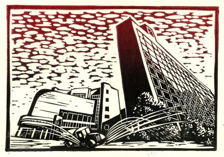 Moscow constructivism: Centrosoyuz (Le Corbusier)