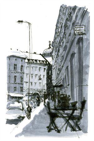 Berlin, Tucholsky street